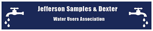 Jefferson Samples & Dexter Water User Association Logo